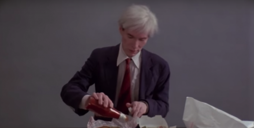 Eat Like Andy Super Bowl Commercial Features Andy Warhol