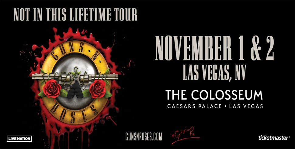 WIN Tickets To GNR
