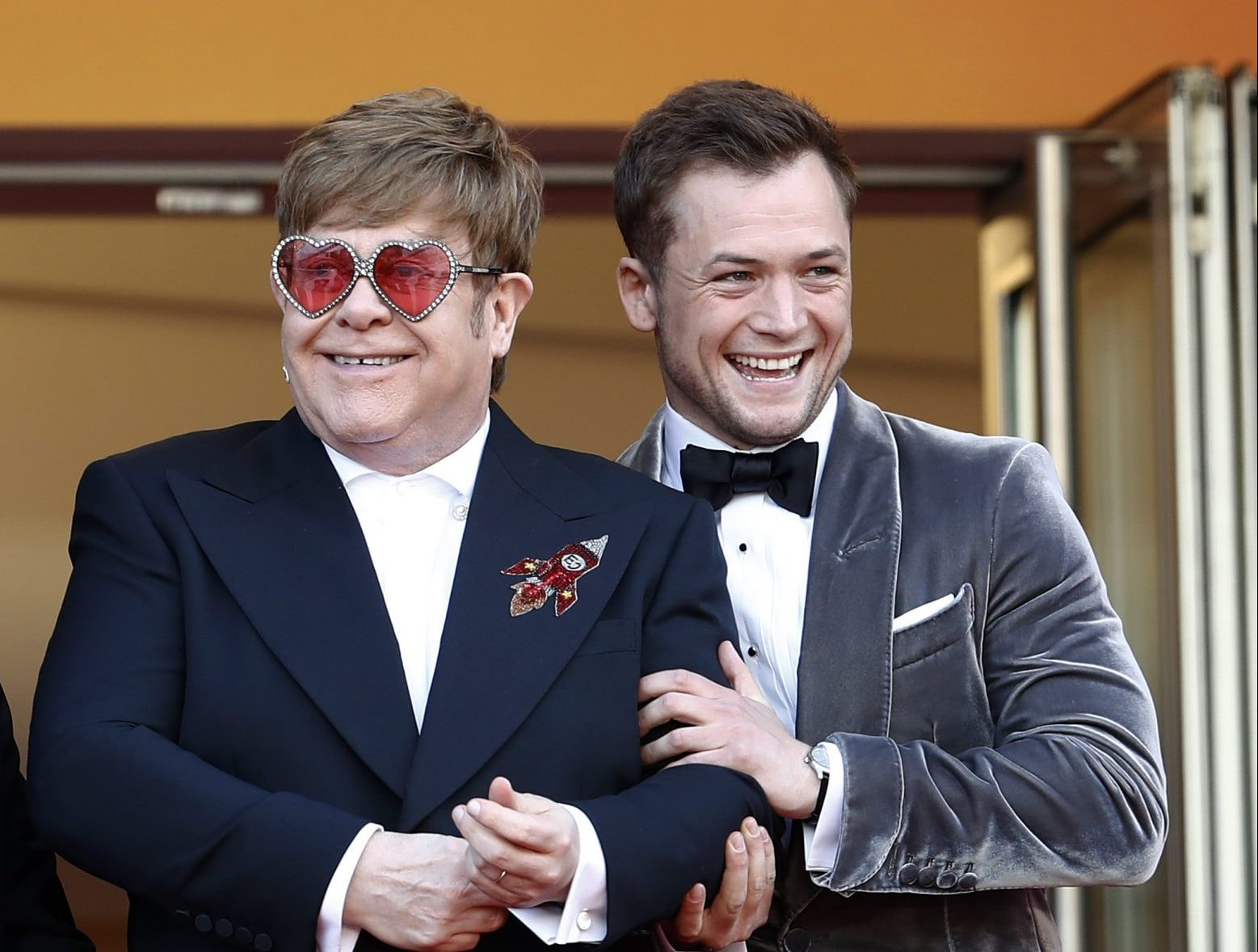 Elton John, Taron Egerton Performing at Special 'Rocketman