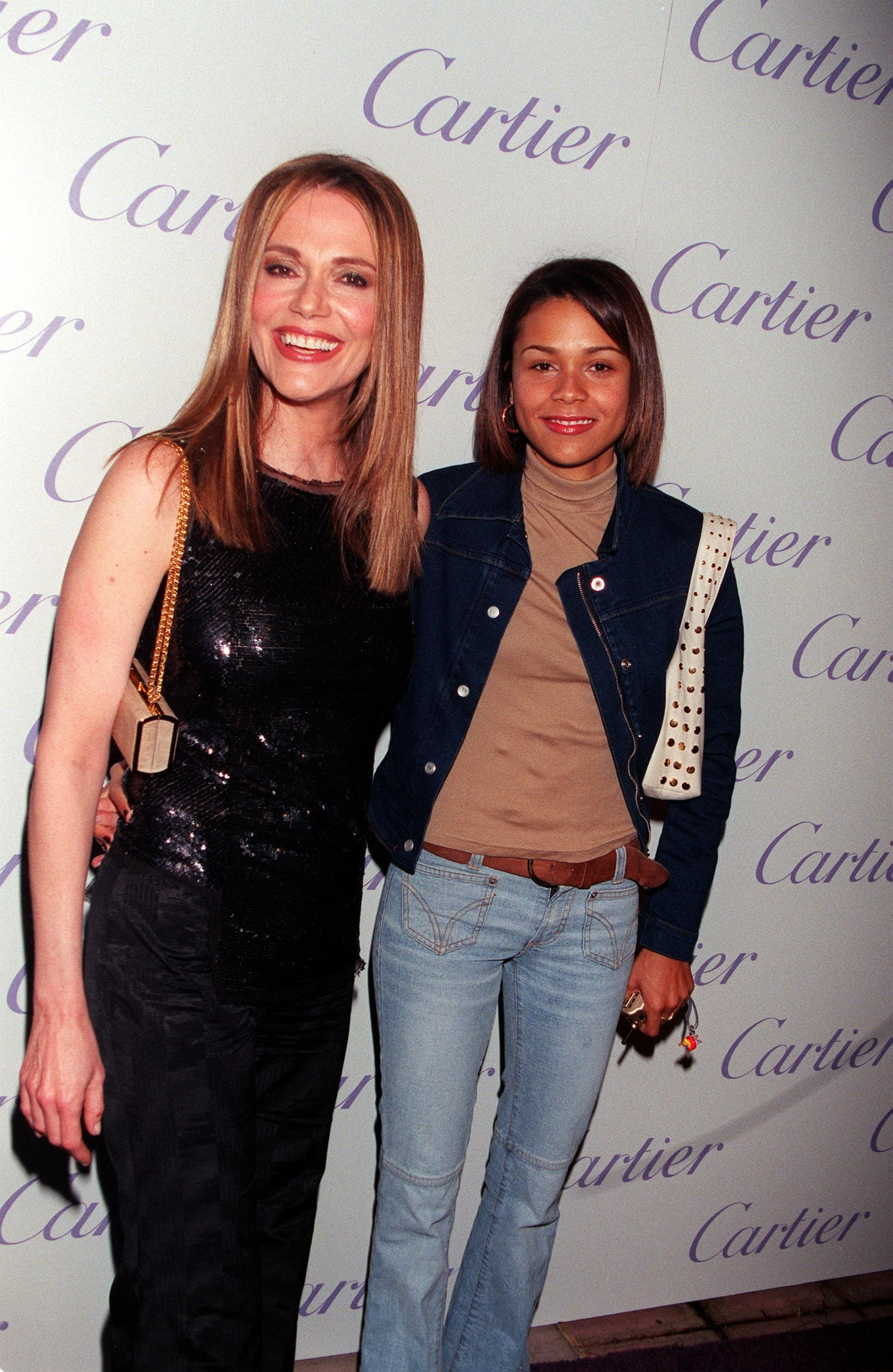 Peggy Lipton and Kidada Jones
